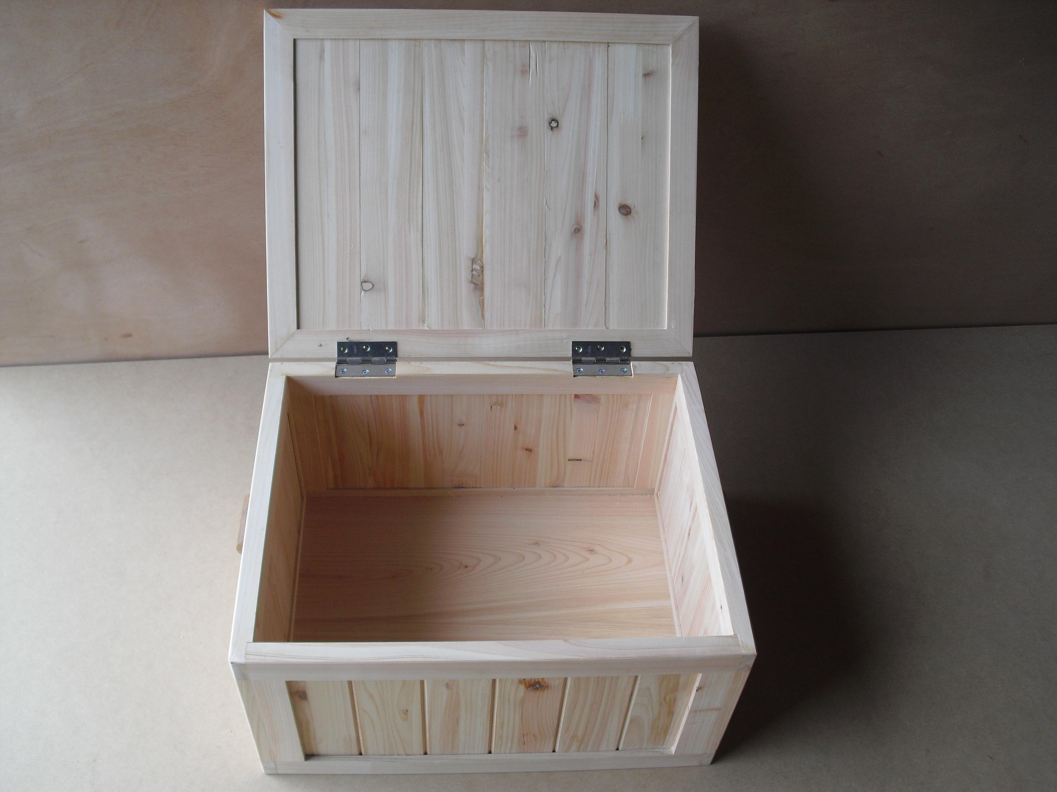 すべての折り紙 折り紙 箱 ふた付き 作り方 : 収納ケース木箱 通販 手作り ...